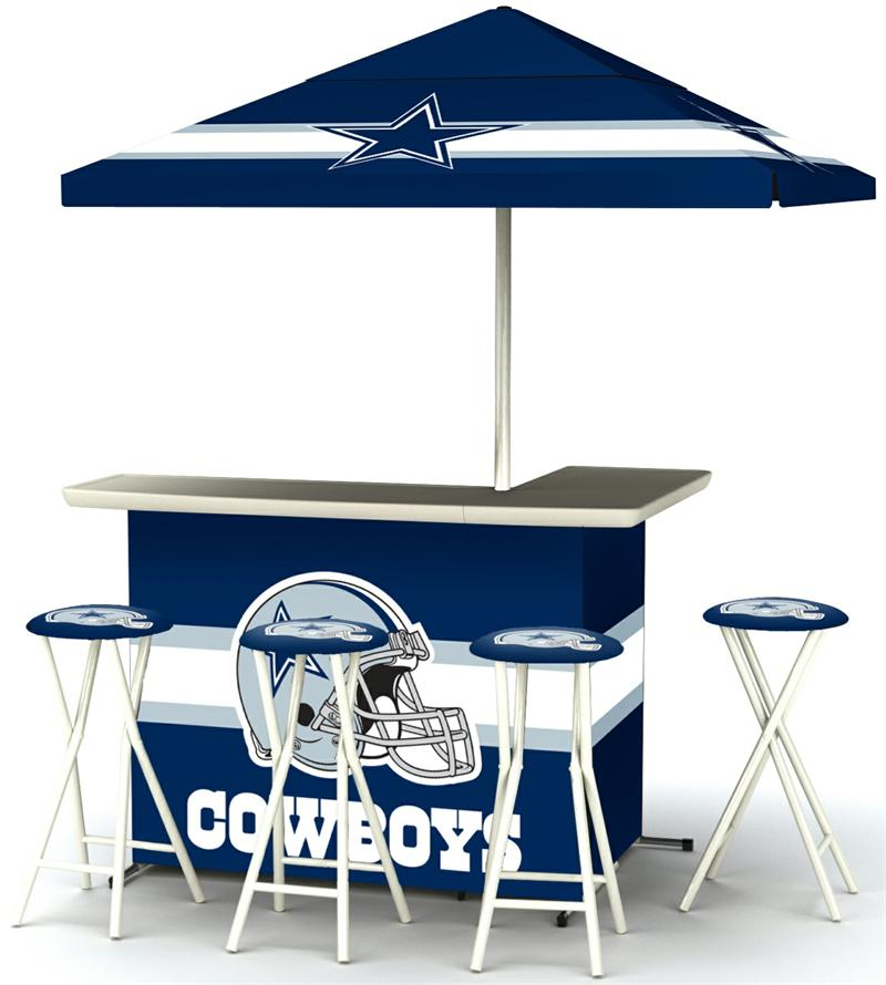 Dallas Cowboys Deluxe Portable Tailgate Bar Set : DALLAS2003W1202 from gottabesports.com size 800 x 890 jpeg 63kB