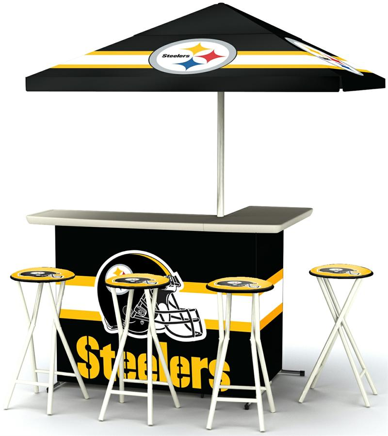 Pittsburgh Steelers Deluxe Portable Tailgate Bar Set : PITTSBURG2003W1201 from gottabesports.com size 800 x 899 jpeg 68kB